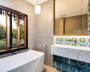Ensuite Crown St Bardon Natural Lifestyle Homes