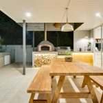 Sustainable Barlow St_Alfresco pizza oven bbq 2